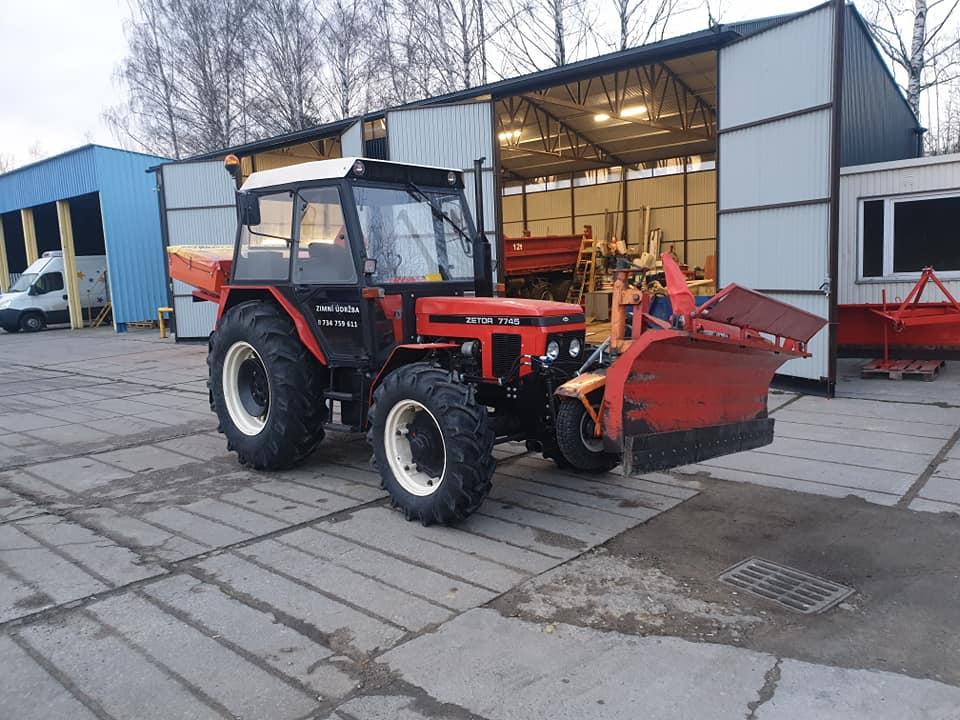 Traktor – bagr HIDROMEK 102S SUPRA